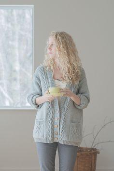 Ravelry: Maggie cardigan pattern by Pam Allen