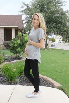 """""""It is so incredibly soft and perfect for leggings and my growing bump."""" - @simplyclarke"""