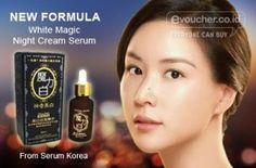 New Formula From Serum Korea Yang Berfungsi Sebagai Serum & Cream Malam Yang Lebih Efektif 2x Lipat Hanya Rp.39,000 - www.evoucher.co.id #Promo #Diskon #Jual  Klik > http://evoucher.co.id/deal/Formula-Baru-Serum-Korea  New Formula From Serum Korea dengan fungsi ganda sebagai serum & cream malam yang 2x lebih efektif membuat kulit kamu jadi lebih bersih. & sebagai anti aging, menghilangkan kerut di wajah, serta melembabkan kulit, menghaluskan, dan memutihkan. dilengkapi de