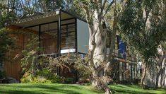 Eames House Exterior  January 28, 2015: The Getty Conservation Institute will host a discussion on the first phase of the Eames House Conservation Project.