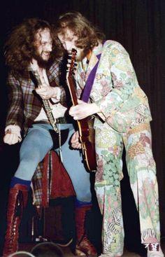 Jethro Tull: Ian Anderson and Martin Barre.