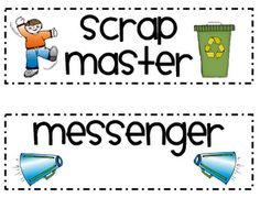"i like the idea of having a ""scrap master"""
