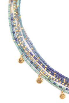 Boormanie Shell Layered Necklace for Women Girls,Boho Hawaii Wakiki Sea Beach Shell Choker Collar Layer Conch Shell Necklace Gold – Jewelry & Gifts - DIY Schmuck Seed Bead Jewelry, Cute Jewelry, Boho Jewelry, Jewelry Crafts, Jewelery, Jewelry Accessories, Handmade Jewelry, Jewelry Design, Macrame Jewelry