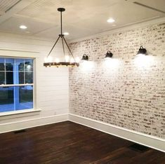 How to Build a Faux Brick Wall How to Build a Faux Brick Wall & the restoring house The post How to Build a Faux Brick Wall appeared first on Etta Ward. Faux Brick Wall Panels, Brick Wall Paneling, Brick Accent Walls, Faux Brick Walls, White Brick Walls, Brick And Wood, Exposed Brick Walls, Faux Wood Wall, Brick Wallpaper Accent Wall