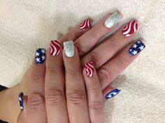 4th of July or Veteran's Day, we have your nails covered at Simply Devine Salon call today 575-522-9797