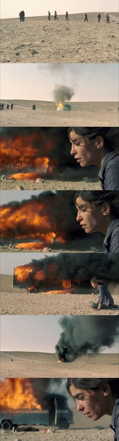 Incendies Cinematography by André Turpin Cinema Movies, Cinematography Examples, Denis Villeneuve, Ways Of Seeing, Film Stills, Storyboard, Movie Quotes, Movies, Scene