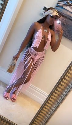 Bad Girl Outfits, Boujee Outfits, Girls Summer Outfits, Cute Swag Outfits, Dope Outfits, Pretty Outfits, Fashion Outfits, Black Girl Fashion, Look Fashion