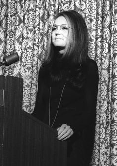 Before Disney princesses were singing about equal pay, feminist journalist Gloria Steinem was marching and speaking out for women's rights. Feminist Icons, Feminist Quotes, Feminist Art, Gloria Steinem Quotes, Portraits, Confident Woman, Badass Women, Women In History, Celebs
