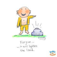 today's doodle: lighten the load