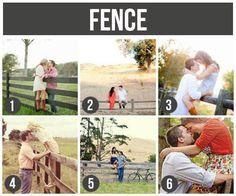Actitudes para tus fotos familiares