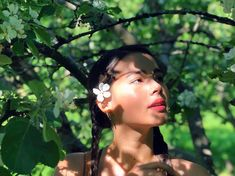 currently under an apple tree Tree Photography, Fashion Photography, Aesthetic Japan, Ulzzang Korean Girl, Cute Makeup, Celebs, Celebrities, Picture Poses, Korean Music