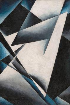 Lyubov Popova. Painterly Architectonic. 1917