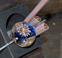 Видео мастер-класс по лэмпворку: Как распускаются цветы в бусинах