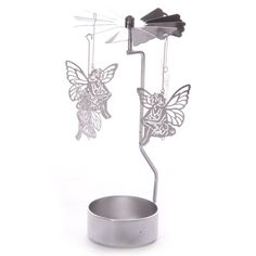 Fairy Design Metal Tealight Spinner, Fairy Candle Holder, Gift, Present, Home Decor - Needful Things UK - Unique Gifts & Lovely Things Candle Holder Decor, Wooden Candle Holders, Mirror Candle Plate, Crystal Candelabra, Wooden Lanterns, Glass Candlesticks, Home Candles, Tea Light Holder, Tea Lights