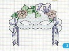 0 point de croix masque - cross stitch mask 2