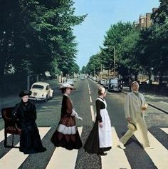 #DowntonAbbey Road http://oztvreviews.com/2015/02/downton-abbey-is-back/