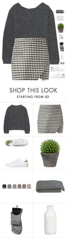 """""""Checkers"""" by genesis129 ❤ liked on Polyvore featuring Uniqlo, Converse, Broste Copenhagen, Forever 21, Crate and Barrel, Fuji and vintage"""