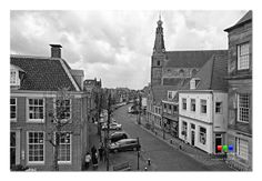 Looking down the Nieuwstraat (I guess I don't have to translate this one) from a third floor window in the City Hall building.