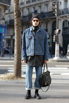 Dope Fashion, Mens Fashion, Fashion Outfits, Fashion Line, Men Street Look, Estilo Jeans, Fashion Images, Stylish Men, Dr. Martens