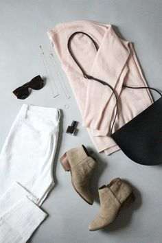 Базовый гардероб. Белые джинсы. woman-delice.com