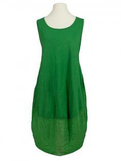 Damen Baumwollkleid, grün von Diana bei www.meinkleidchen.de