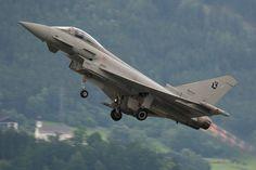 Eurofighter Typhoon 2000 Climbing