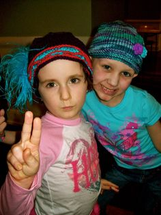 Jean-Bean & Brooke ~peace~ and hats of love by Ilona