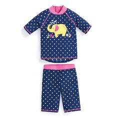 f5a99b28697f Elephant 2-Piece Sun Protection Suit. JoJo Maman Bebe