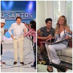 Silvio Santos e Eliana garantem vice-liderança isolada para o SBT neste domingo…