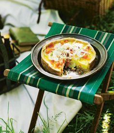 Smoked trout and fennel tart recipe | Tart recipe | Rodney Dunn recipe ...