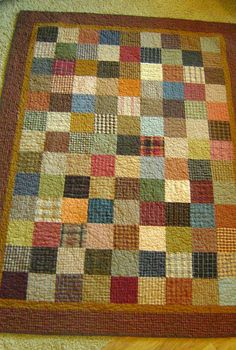 Boyfriend quilt by amy smart, via Flickr