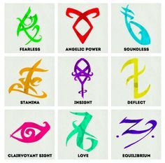 "ShadowHunter Runes!!!! I have 2, 3, 5, 6, 7, and 8 on my arms :P I cam up with ALOT of my own.... One of My Friends says I have ""Clary's Powers"" because of how much they look like shadowhunting marks x) #shadowhunters are #AMAZING!!!"