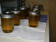 Easy pear jelly recipe - can do with cores and peels