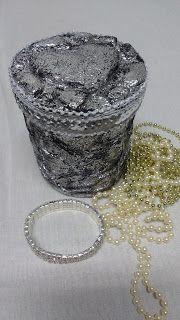 Lulis Artes: Efeito prata peruana