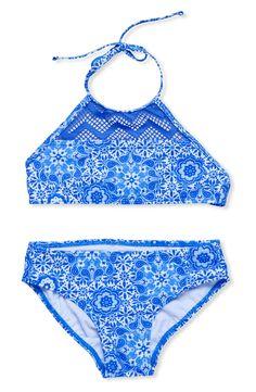 Gossip Girl 'Nomad Child' Two-Piece Swimsuit (Big Girls)