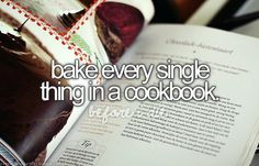 Before I Die Bucket Lists | bake, bake everything, before i die, bucket list, ... - inspiring ...