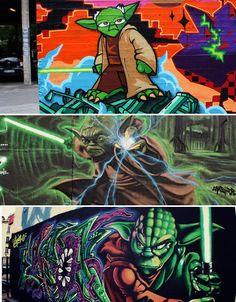 Art Strikes Back: 24 More Sweet Star Wars Graffiti Artworks
