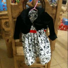 Emerson's Christmas Dress Nana helped a lot!