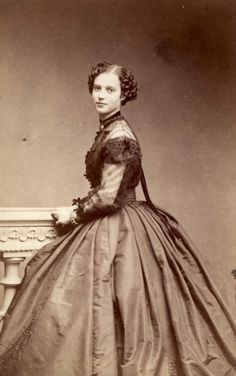 A very young Maria Feodorovna (Dagmar of Denmark).