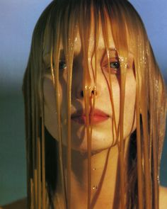 """dinnerwithannawintour: """" Tanya Dziahileva by Hans Feurer, Vogue China July 2008 """""""