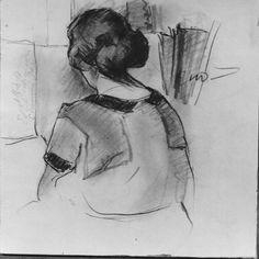 Fellow Student, Croquis Class, 1920 (697) | Edwin Dickinson, 1891–1978