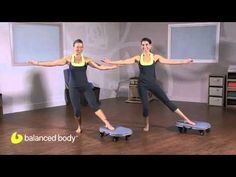 Portia Page shows how to use the Orbit to do a group exercise, the Standing Balance Series.