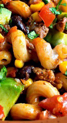 One Pot Tex-Mex Pasta