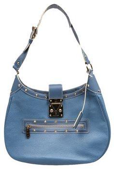 3b088764c5b Louis Vuitton Le Talentueux Blue Leather Shoulder Bag 34% off retail