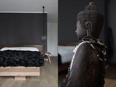 Vosgesparis: A masculine home in brown and black   Wolfram Neugebauer