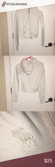 Abercrombie And Fitch Zip-Up Hoodie Kids Girls Extra Small Abercrombie And Fitch Zip up Hoodie  Gently Used  Smoke Free home 🚭 If Interested Please Send Me A Reasonable Offer!  Thank You For Stopping By My Closet! abercrombie kids Other