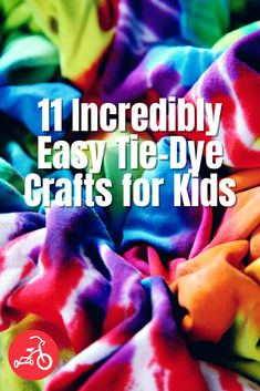 Since we can't think of anything more colorful than tie dye, we wanted to gather the best tie-dye projects for kids. From cool tie-dye patterns to the must-know tips, we've got you covered. Diy Kid Crafts For Boys, Easy Art For Kids, Projects For Kids, Kids Diy, Craft Projects, Cool Tie Dye Patterns, Tie Dye Party, Tie Dye Kit, Tie Dye Crafts