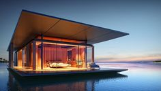 This Beautiful Floating House Blows Traditional Houseboats Out of the Water