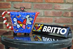 This Britto tea kettle will brighten up any kitchen.