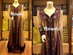 Latest Winter Party Wear 2014 For Girls by Nakoosh